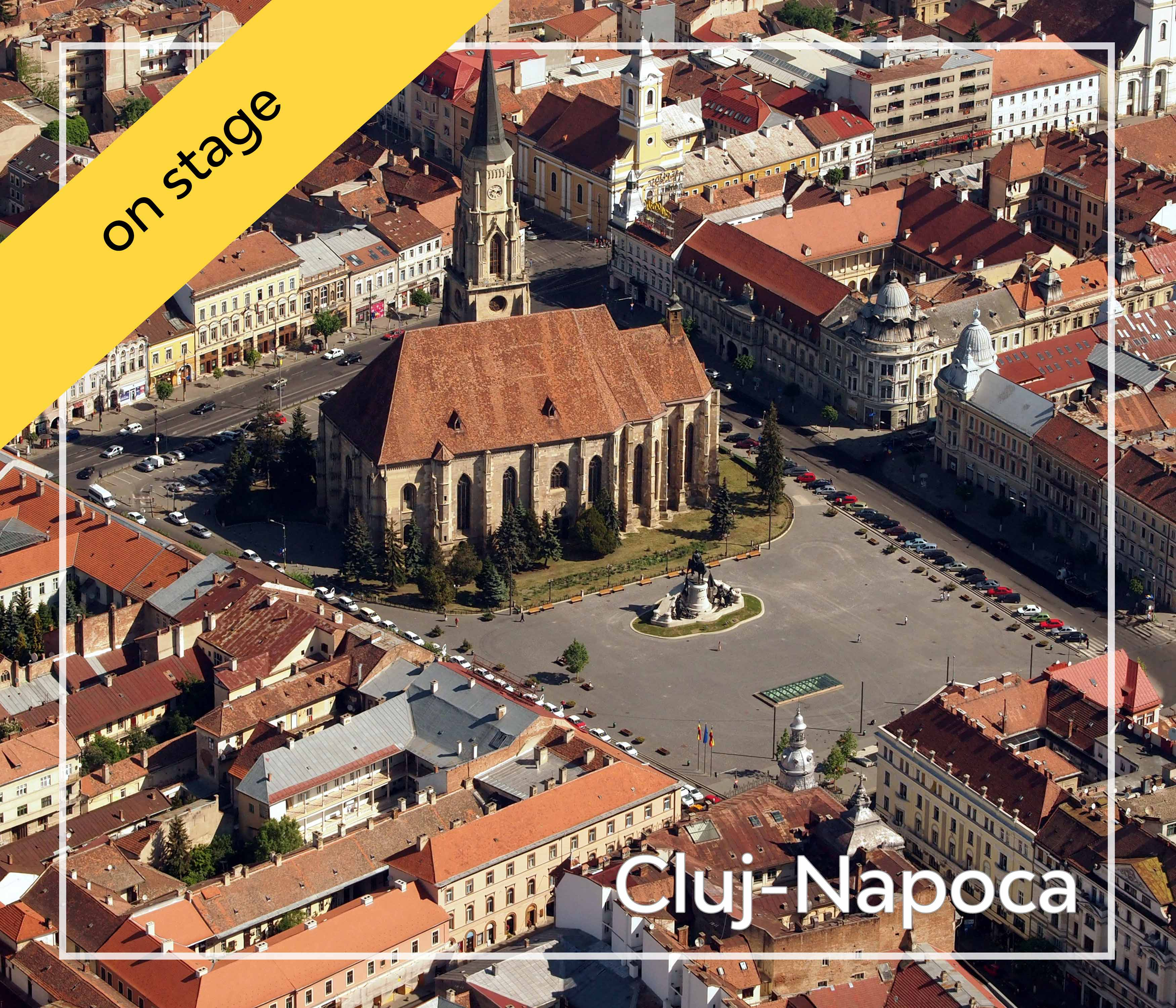 On-stage—Cluj-Napoca