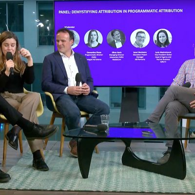 Programmatic Conference with Interactive Advertising Bureau Europe in London